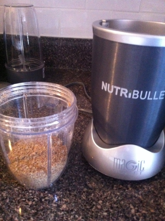 So long Bog Apple Smoothie, I've got my trusty Nutri Bullet that makes smoothies that aren't as yummy tasting, but isn't that the point??